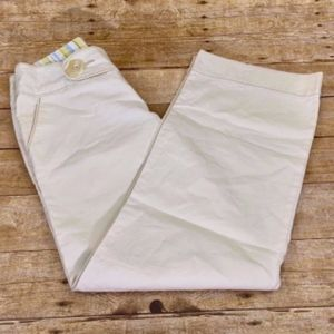 Free People Size 6 Cream Jeans